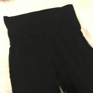 00ddd9e084678 Mossimo Supply Co. Pants - TARGET mossimo supply black crop foldover  leggings
